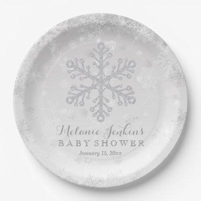 Baby It\'s Cold Outside Plates (boy) | Zazzle.com