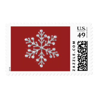 Winter Snowflake Stamp