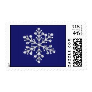Winter Snowflake Stamp stamp