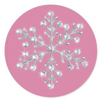 Winter Snowflake Sticker sticker