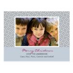 Winter Snowflakes :: Christmas Photo Postcard