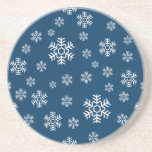 Winter Snowflakes Coaster