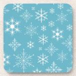 Winter Snowflakes Drink Coaster