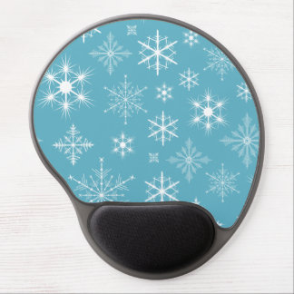 Winter Snowflakes Gel Mouse Pad