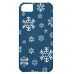 Winter Snowflakes Holiday iPhone 5C Cases