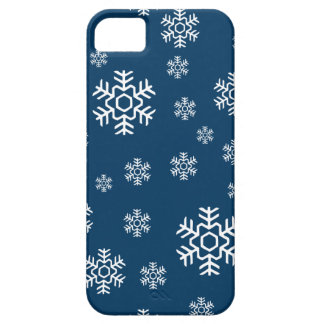 Winter Snowflakes Holiday iPhone SE/5/5s Case