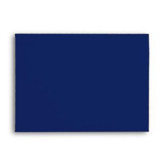 Winter Snowflakes Icy Blue Envelope