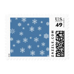 Winter Snowflakes Postage Stamps