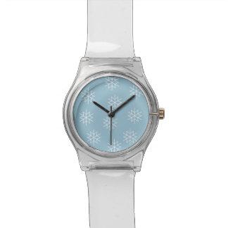 Winter Snowflakes Wrist Watch