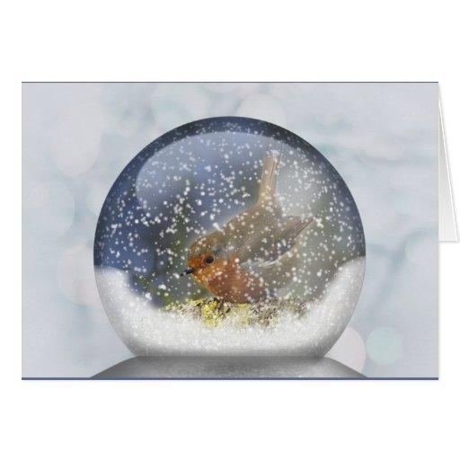 Winter Snowglobe Card