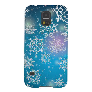 Winter Snowing Flakes Christmas Samsung Galaxy S5 Galaxy S5 Case