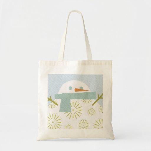 Winter Snowman Bag