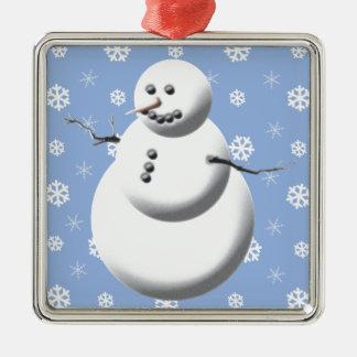 Winter Snowman Cute Christmas Ornament