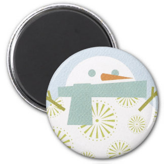 Winter Snowman Magnet