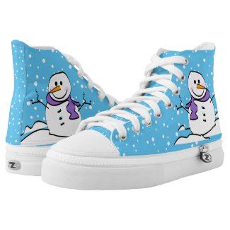 Snowman sneakers