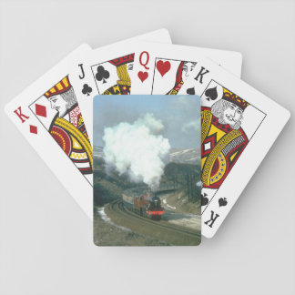 Winter snows have cleared as No_Steam Trains Playing Cards