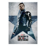 Winter Soldier Worn Star Poster
