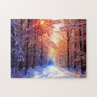 Winter Solitude Jigsaw Puzzle