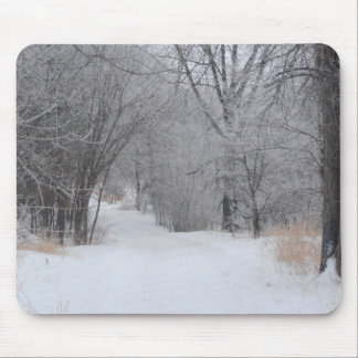 Winter Solitude Mouse Pad