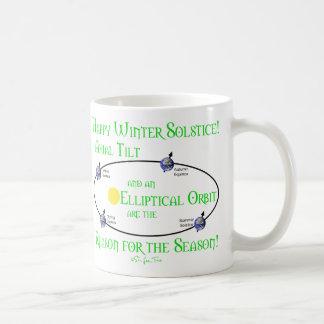 Winter Solstice Axial Tilt Coffee Mug