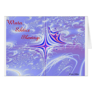 Winter Solstice Blessings Cards