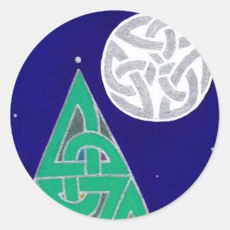 Winter Solstice (detail version 2) stickers