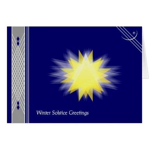 Winter Solstice I Greeting Card