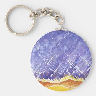 Winter Solstice Keychain