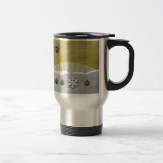 Winter Solstice Morning - collage 15 Oz Stainless Steel Travel Mug