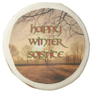 Winter Solstice Party Cookies: Winter Sun Sugar Cookie
