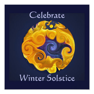 Winter Solstice Party Invitation