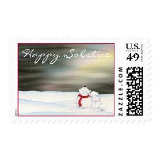 Winter Solstice Postage