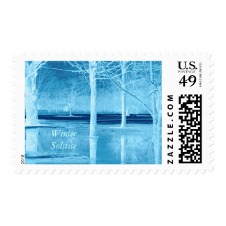 Winter Solstice Postage Stamps