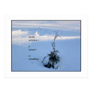 Winter Solstice Postcard