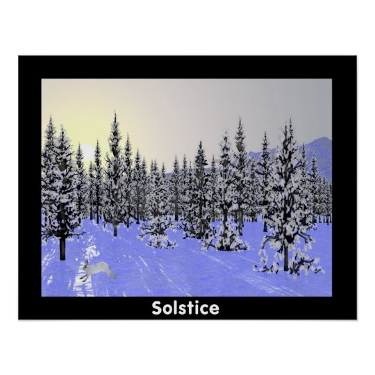 Winter Solstice Poster
