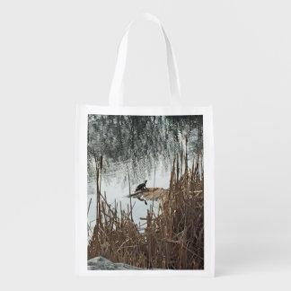 Winter Solstice Reusable Grocery Bag