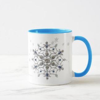 Winter Solstice Snowflake Mug