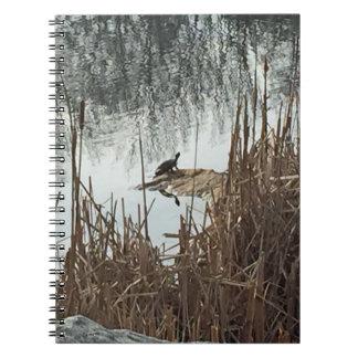 Winter Solstice Spiral Notebook