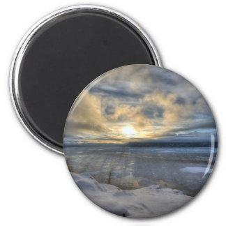 Winter Solstice Turnagain Arm Magnet