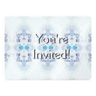 Winter Solstice Yule Snow Christmas Invitations