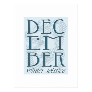 Winter Soltice Postcard