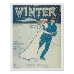 Winter Songbook Cover Poster