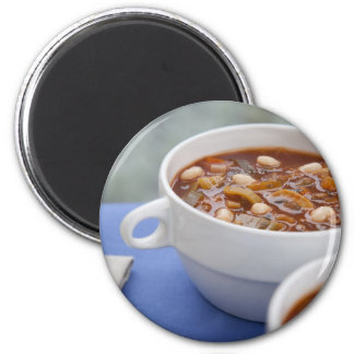 Winter Soup Magnet