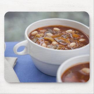 Winter Soup Mouse Pad