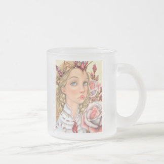 Winter Spell Frosted Glass Coffee Mug