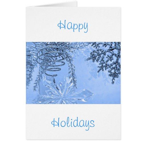 """""""Winter Spiral Blue"""" collection Cards"""