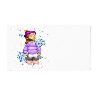 Winter Splendor Label