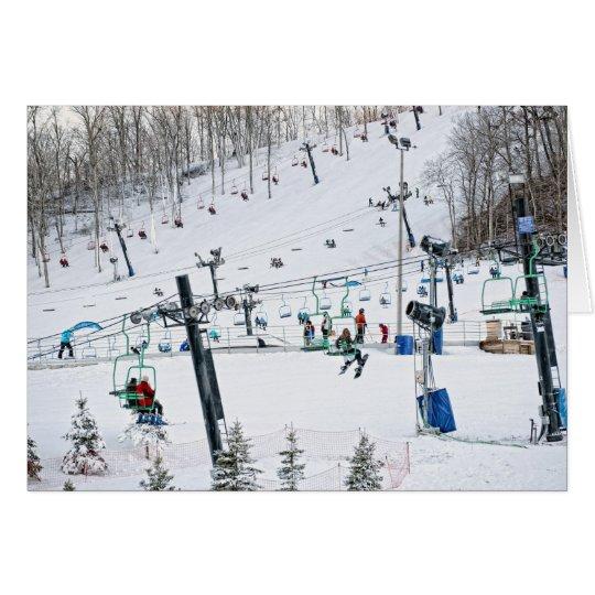 Winter Sports Card