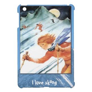 Winter sports - Downhill fun Case For The iPad Mini