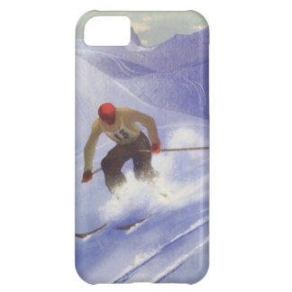 Winter sports - Downhill race iPhone 5C Cover